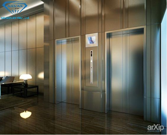 Trang trí, gia công nội thất thang máy theo yêu cầu