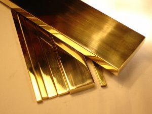 Thanh la inox vàng