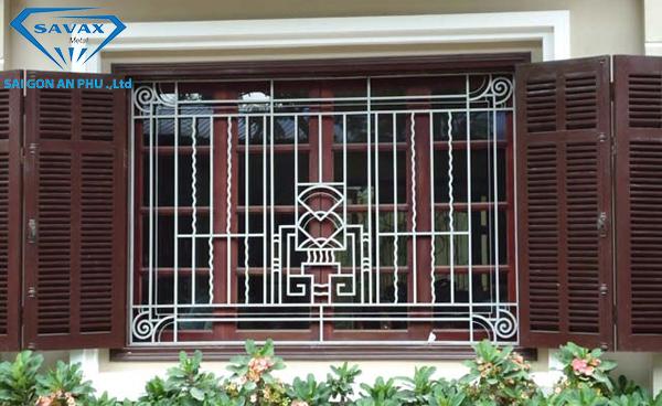 Mẫu chấn song cửa sổ hiện đại