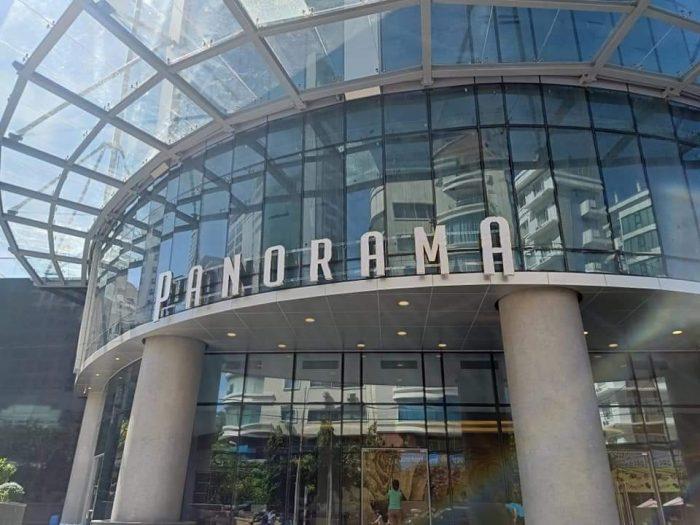 Ốp thang máy cho khách sạn Parorama thi công inox Nha Trang