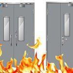 Loại cửa chống cháy 60 phút