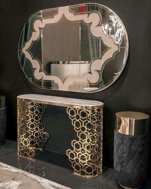 Bàn và gương Luxury