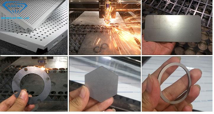 Các mẫu cắt laser phổ biến tại xưởng