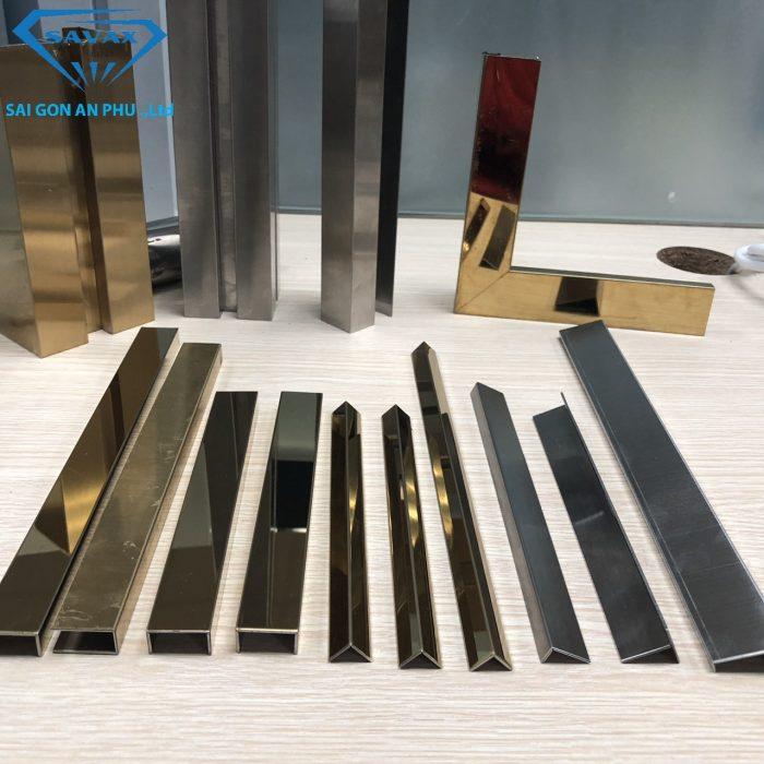 Các mẫu nẹp kim loại dùng trong trang trí nội thất